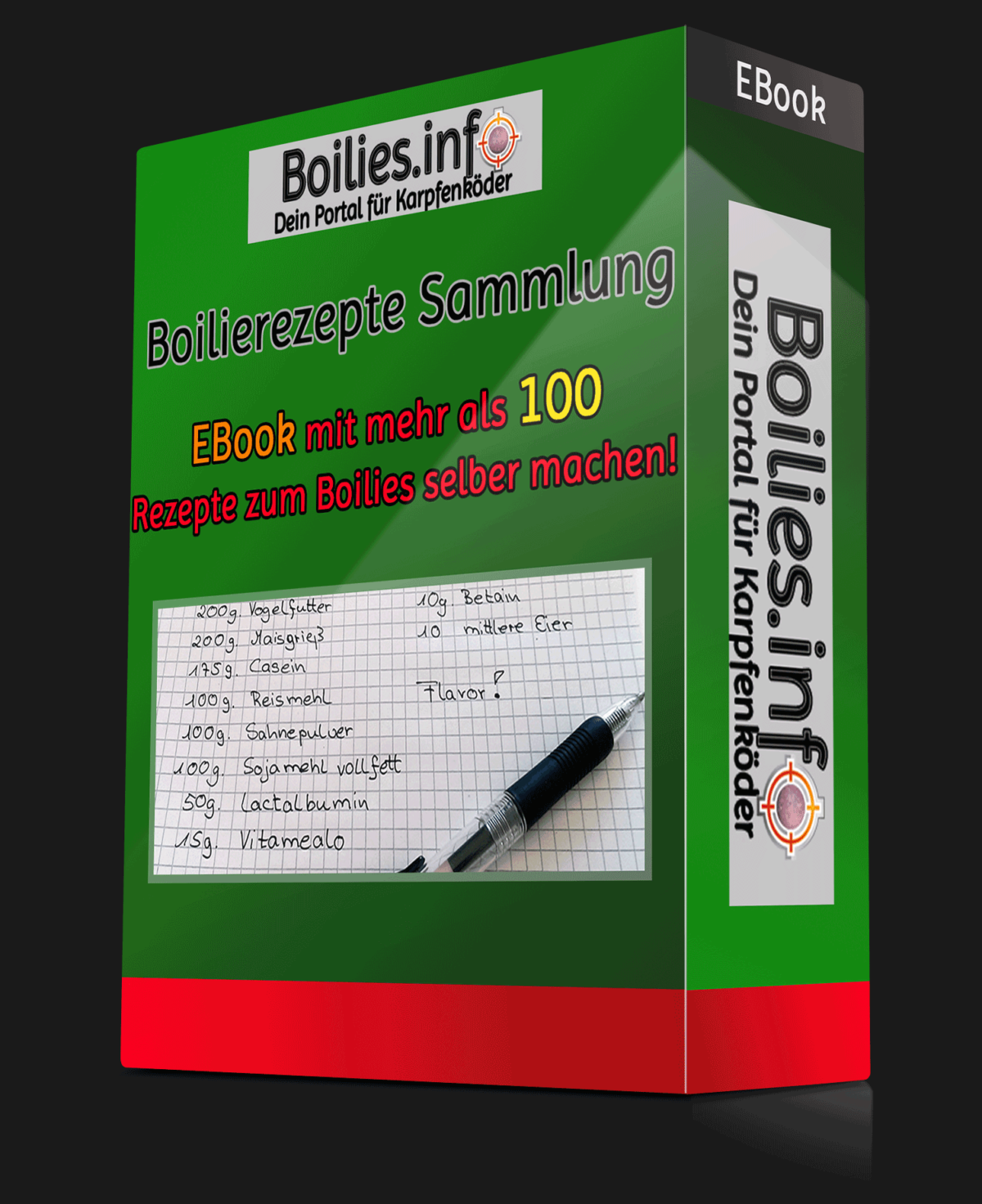 Boilie Rezepte Sammlung