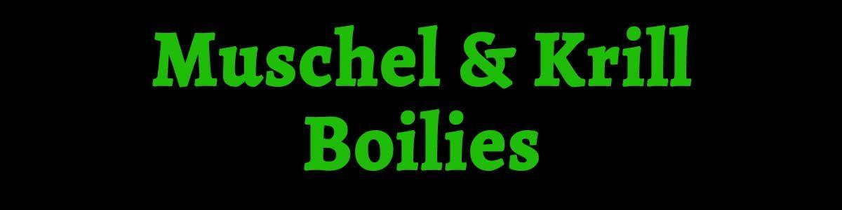 Muschel Krill Boilies