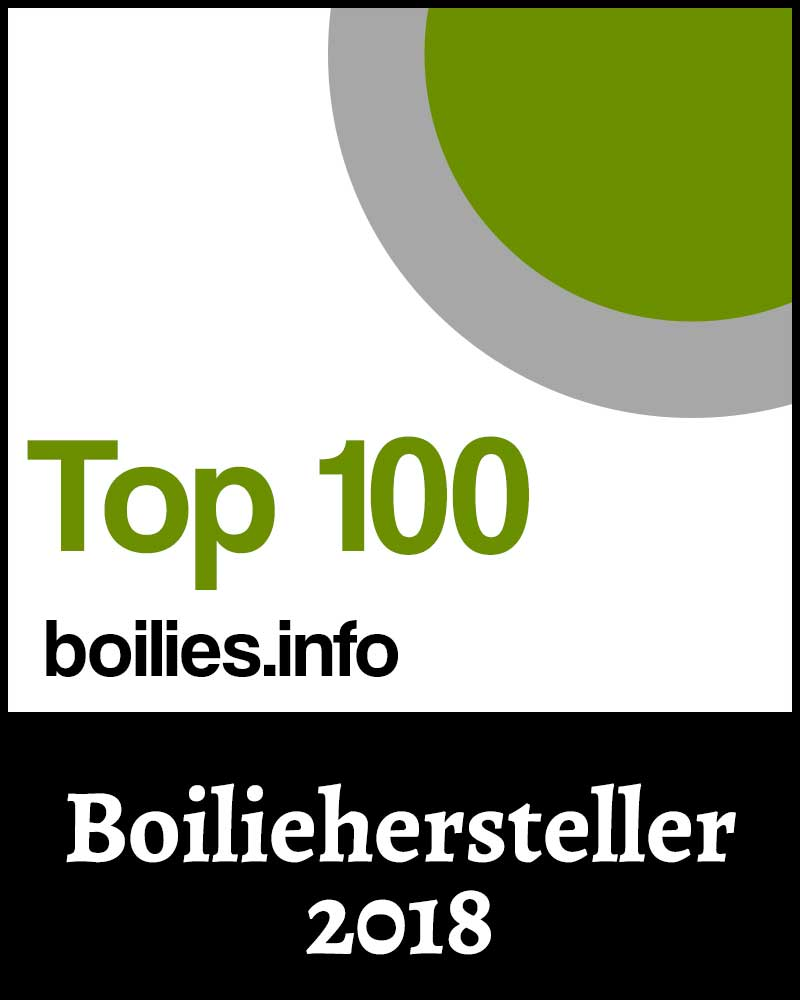 Top 100 Boiliehersteller 2018 Siegel
