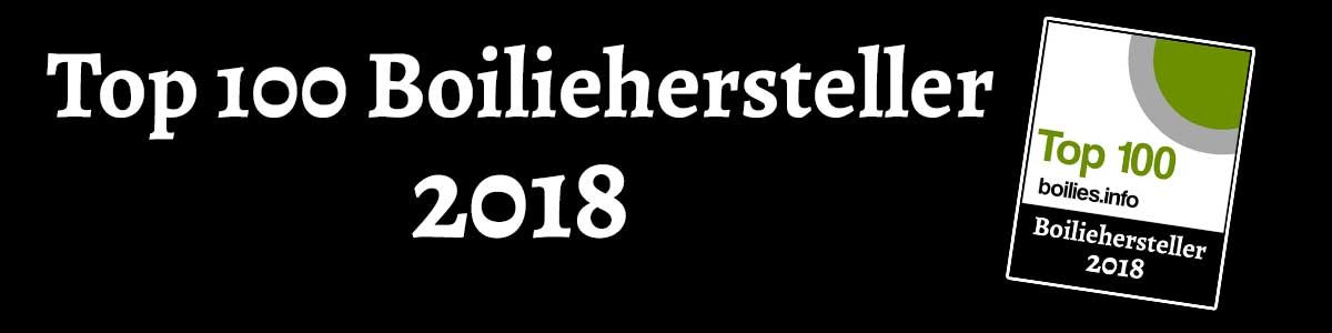 Top 100 Boiliehersteller 2018