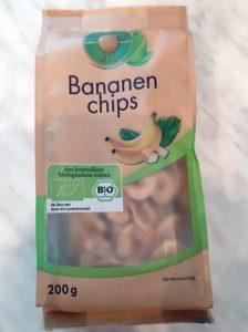 Frucht Mehl aus Bananen Chips machen